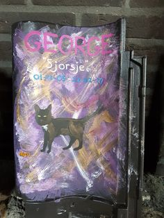 "Verlaat grafzerkje voor George ""Sjorsje"" #Dakpan"
