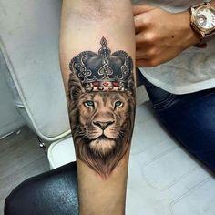Popular lion tattoo models in 2019 - tattoos for men: best men tattoo . - Popular lion tattoo models in 2019 – tattoos for men: best men tattoo model # - Wolf Tattoos, Hand Tattoos, Lion Forearm Tattoos, Lion Head Tattoos, Forarm Tattoos, Mens Lion Tattoo, Body Art Tattoos, Lion Tattoos For Men, Lion Tattoo With Crown