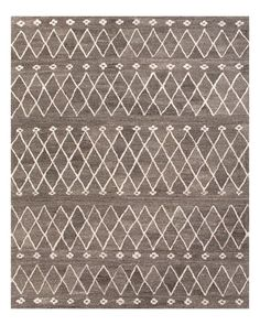 """A thick, textural pile and eclectic Moroccan-influenced motifs distinguish Jaipur's artful rug. 