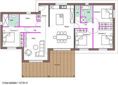 Exemples de plans - Dubourg Construction - Maisons en bois Landes 40