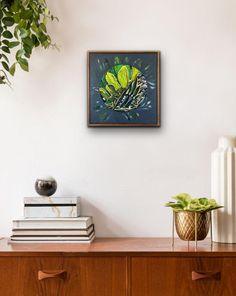 Claudia Gurwitz: Assemblage #5: fine art | StateoftheART Floating Nightstand, Canvas Size, Original Artwork, Fine Art, Artist, Painting, Home Decor, Floating Headboard, Decoration Home