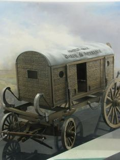 The carriage of ambulance of Larrey http://artig.lv/en/products/p_NF0290-03+ambulance_guard_napoleonic_war_figures_tin_soldiers_painting_model
