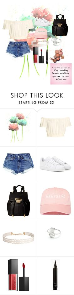 """""""Untitled #72"""" by xoutfiter ❤ liked on Polyvore featuring adidas, Ivanka Trump, Humble Chic, Smashbox, Summer, cute and goals"""