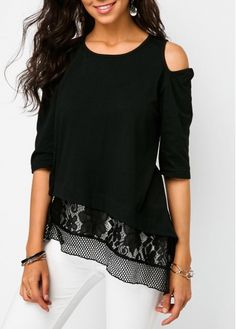 Women Blouse Designs, Women Blouses And Tops, Formal Blouses For Women Page 3 Stylish Tops For Girls, Trendy Tops For Women, Blouses For Women, Women's Blouses, Formal Blouses, Fashion Blouses, Blouse Styles, Blouse Designs, How To Roll Sleeves