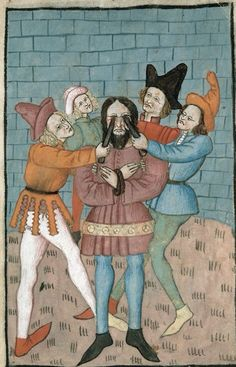 Ouch, poor eyes, c.1470-1480