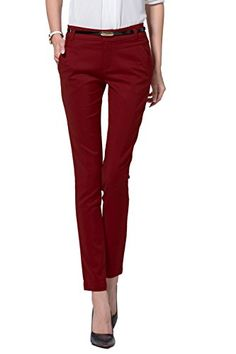 Women's Slim Skinny Dress Pants * Want to know more, click on the image.