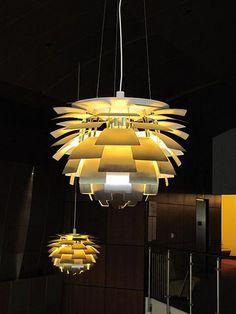 Beautiful Artichoke Lamp