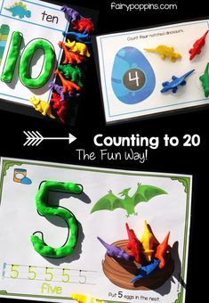 Dinosaurs is such a popular theme in my class,which led to the creation of thissuper fun set of dinosaur mathsactivities! These activities are great for kids learning the numbers 0 to 20. Dinosaur Math Centers Check out the pics below to see some of the dinosaur math centers in action. They're easy to set up…