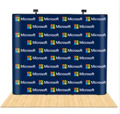 10ft pop up displays, otherwise called exhibit displays, and are ideal for introducing 10ft wide design at tradeshow exhibit.