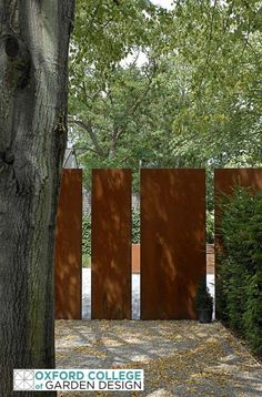 Garden Screening Ideas - Find ideas for modern - into the post, we will certainly provide you an overview of the kinds of privacy fence and garden wall surface. Screening fence - materials as well as. Backyard Fences, Garden Fencing, Garden Art, Ranch Fencing, Fence Landscaping, Garden Beds, Landscape Architecture, Landscape Design, Garden Screening