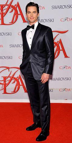 Matt Bomer in Calvin Klein Collection