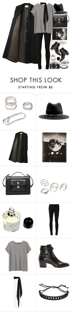 """""""Untitled #8640"""" by nikka-phillips ❤ liked on Polyvore featuring Forever 21, rag & bone, Balenciaga, Byredo, rag & bone/JEAN, Proenza Schouler, Yves Saint Laurent, Nikon, Marc by Marc Jacobs and women's clothing"""