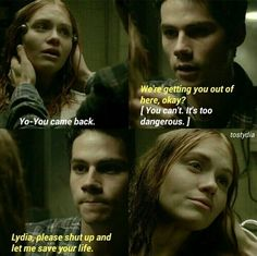 Find images and videos about teen wolf, dylan o'brien and holland roden on We Heart It - the app to get lost in what you love. Teen Wolf Stydia, Teen Wolf Dylan, Dylan O'brien, Teen Wolf Fan Art, Teen Wolf Ships, Teen Wolf Quotes, Teen Wolf Funny, Teen Wolf Scenes, 13 Year Old Boys