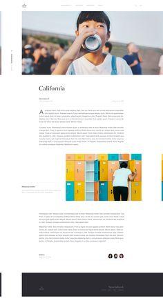 Website Design Inspiration, Website Design Layout, Blog Layout, Web Layout, Design Layouts, Website Designs, Minimal Web Design, Clean Web Design, News Web Design