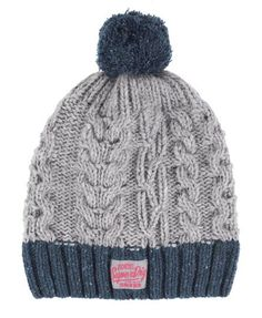 Superdry Nep Cable Beanie