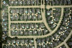 Large Houses on Small Lots - Plano, Texas City Grid, Large Homes, Aerial Photography, City Photo, Culture, Design, Pools, Plano Texas, Eye