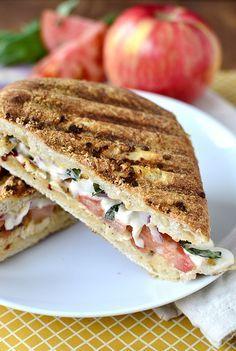 Copycat Panera Frontega Chicken Sandwich | iowagirleats.com