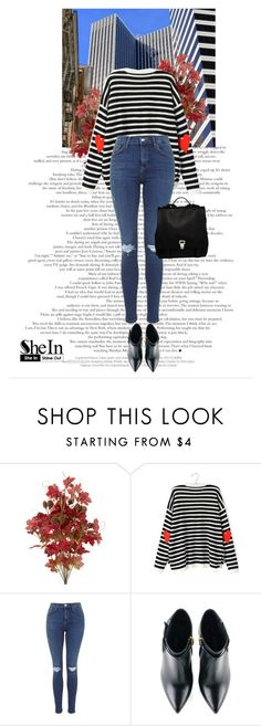 """""""SheIn contest"""" by erminm ❤ liked on Polyvore featuring Kim Kwang, Proenza Schouler, women's clothing, women's fashion, women, female, woman, misses, juniors and shein"""