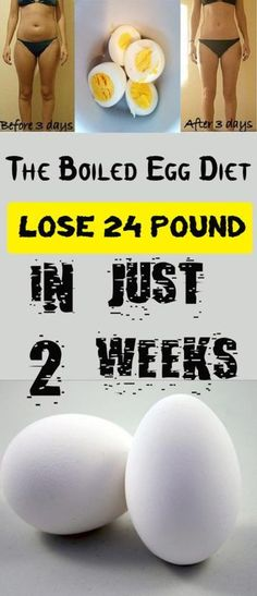The Boiled Egg Diet – Lose 24 Pounds In Just 2 Weeks #fitness #health #beauty #abs #workout #gym #food #egg #diet