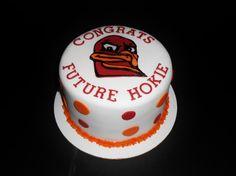 HOKIE/VIRGINIA TECH CAKE