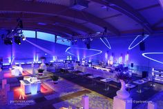 Indoor beach corporate events
