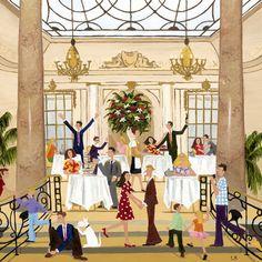 Louise Braithwaite.  Afternoon Tea at the Ritz.