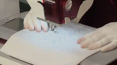Peg Spradlin provides extremely helpful tips on machine quilting for beginners.