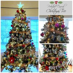 Sweet Parrish Place: Our Polished Casual Christmas Tree