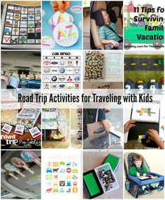 Road Trip Activities With Kids