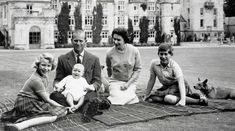 Queen Elizabeth II, Prince Philip Prince Charles, Princess Anne and Prince Andrew / United Kingdom