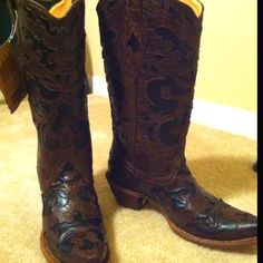 Corral Boots from Cavender's.  Perfect for the Houston Rodeo