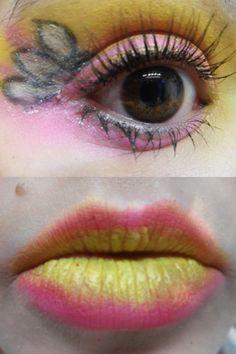 Sailor Chibi Moon inspired make up by http://muthepassion.blogspot.co.at/2013/01/chibiusa-sailormoon-inspired-makeup.html