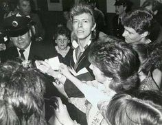 """""""There's an effort to reclaim the unmentionable, the unsayable, the unspeakable, all those things come into being a composer, into writing music, into searching for notes and pieces of musical information that don't exist.' - David Bowie"""