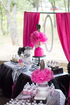Vintage Barbie Birthday Party Ideas | Photo 2 of 33 | Catch My Party