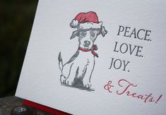 Hey, I found this really awesome Etsy listing at https://www.etsy.com/listing/114110227/dog-holiday-card-letterpress-printed