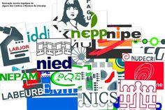Ilustração mostra logotipos de alguns dos Centros e Núcleos Interdisciplinares de Pesquisa da Unicamp. Imagem: Marper