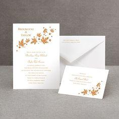 Graceful Leaves - Invitation