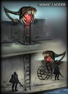 DM Inspiration: Creative Mimics – RPG Booster
