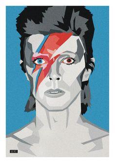 Ilustre David Bowie