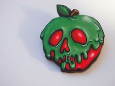 Hey, I found this really awesome Etsy listing at https://www.etsy.com/listing/213506403/poison-apple-snow-white-laser-cut-wood