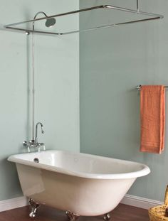 Marvellous Design Clawfoot Tub Shower Curtain Rod 25 Best Ideas Intended For Dimensions 1500 X Kit
