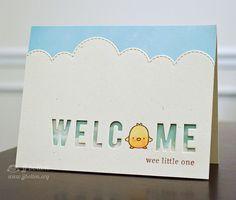 JJ Bolton - Mama Elephant Just Hatched Scrapbooking, Scrapbook Cards, Baby Cards, Kids Cards, Card Making Inspiration, Making Ideas, Mama Elephant Stamps, Elephant Baby, Elephant Design