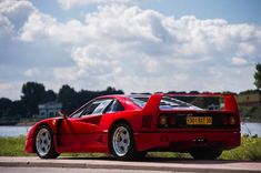 The ex-Nigel Mansell Ferrari is to star in Bonhams Zoute Grand Prix Sale, taking place October. Bespoke Cars, Nigel Mansell, Cars Uk, Ferrari F40, Car Tuning, Sport Cars, Custom Cars, Grand Prix, Luxury Cars