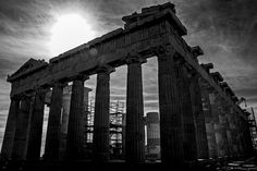 The finest monument of Athens! One of the largest achievements of global architecture, sculptu Parthenon, Acropolis, Athens Greece, Brooklyn Bridge, Greek, Country, Architecture, City, Travel