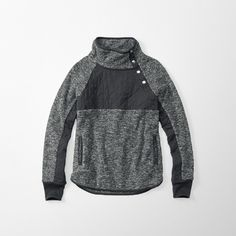 Abercrombie and Fitch hoodie. So cute with capri's and white tenny's!