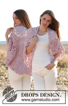 Very pretty crocheted shawl