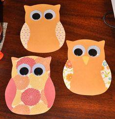 Owl invites.
