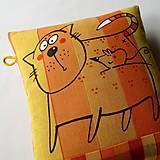 Úžitkový textil - NO TOTOK?!!! - polštář - 7494779_