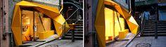 Judit Bellostes : amarillo quebrado – konzepp store : Estudio de arquitectura