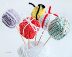 ice pandora: DIY: Crochet Giftbox